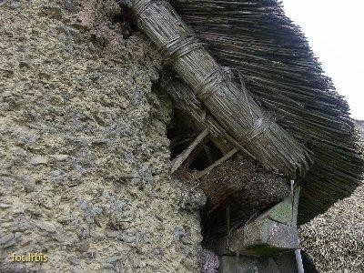 Tynk gliniany ze strukturą łupkową
